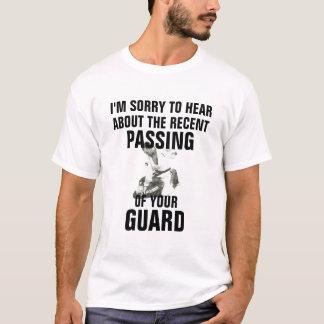 Schutz lustiges BJJ Jiu jitsu Shirt führen