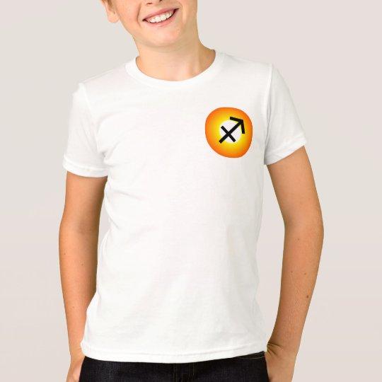 SCHÜTZE-T-SHIRT für Kinder - Tierkreis-Symbol-Weiß T-Shirt