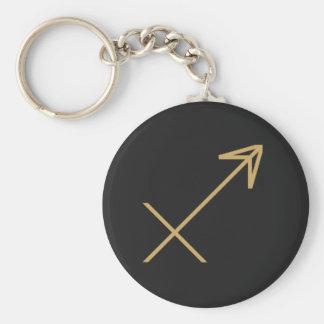 Schütze-Tierkreis-Zeichen grundlegend Schlüsselanhänger