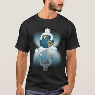 Schützen Sie das Planeten-Schwarz-Shirt T-Shirt