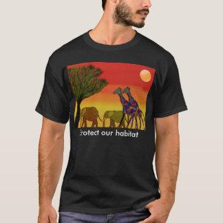 Schützen Sie unseren Jabitat Tieroasen-T - Shirt