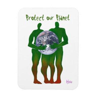 Schützen Sie unseren Planeten-Magneten Magnet