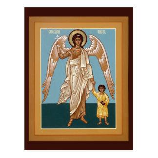 Schutzengel-Gebets-Karte Postkarte
