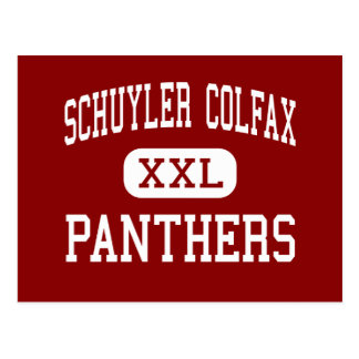 Schuyler Colfax - Panther - Mitte - Wayne Postkarte