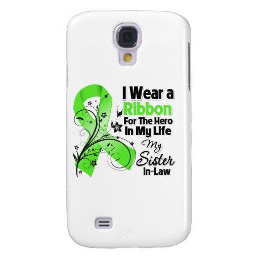 Schwägerin-Held in meinem Leben-Lymphom-Band Galaxy S4 Hülle