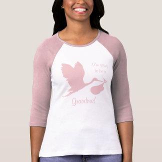 Schwangerschaft Annoucement für Großmutter T-Shirt