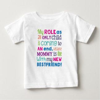 Schwangerschafts-Aufdecken-Neues Baby-große Baby T-shirt