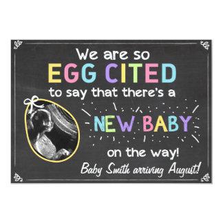 Schwangerschafts-Ultraschall-Mitteilung Ostern 12,7 X 17,8 Cm Einladungskarte