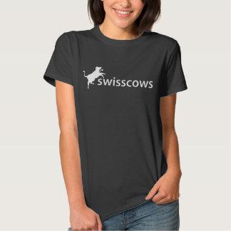 Schwarz de T-shirt de Damen