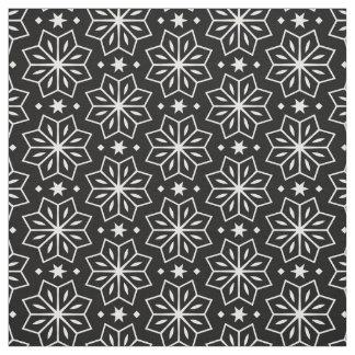 Schwarz-weißer einfarbiger stoff