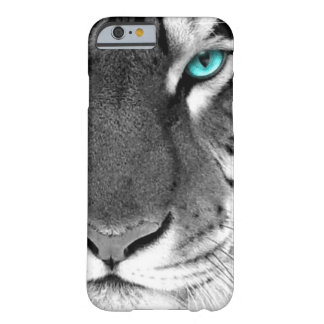 Schwarz-weißer Tiger Barely There iPhone 6 Hülle