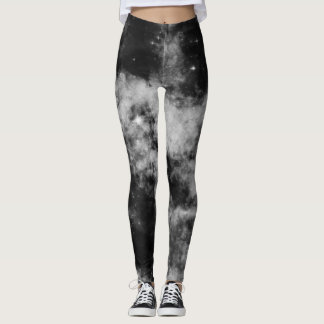 Schwarze Galaxie Leggings