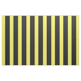 Schwarze/gelbe Honig-Bienen-Farbe Stripes Gewebe Stoff