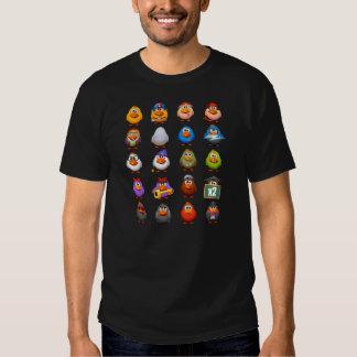 Schwarze Hühner Shirt
