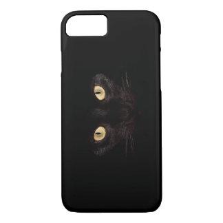 Schwarze Katze iPhone 7 Hülle