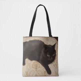 Schwarze Katze Roxie Tasche