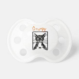 Schwarze Katzen-Geschenke Schnuller