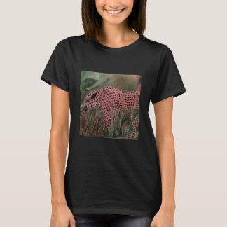 Schwarze Katzen-Shirt T-Shirt