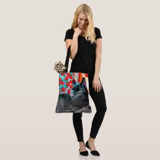 Schwarze Katzen-Taschen-Tasche Tasche