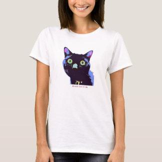 Schwarze Katzen-Verein-T - Shirtart T-Shirt