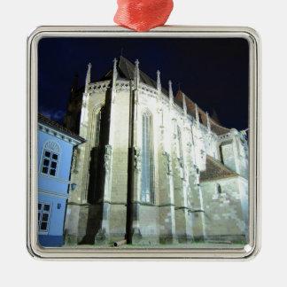Schwarze Kirche in Brasov, Rumänien Silbernes Ornament