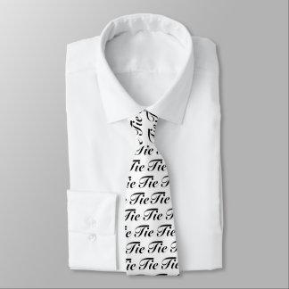 Schwarze Krawatten-Krawatte Bedruckte Krawatten