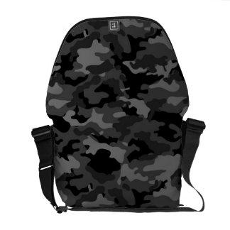Schwarze Kurier Tasche