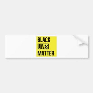 Schwarze Leben-Angelegenheit Autoaufkleber