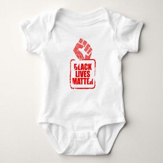 Schwarze Leben-Angelegenheit Baby Strampler