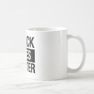 Schwarze Leben-Angelegenheit Kaffeetasse
