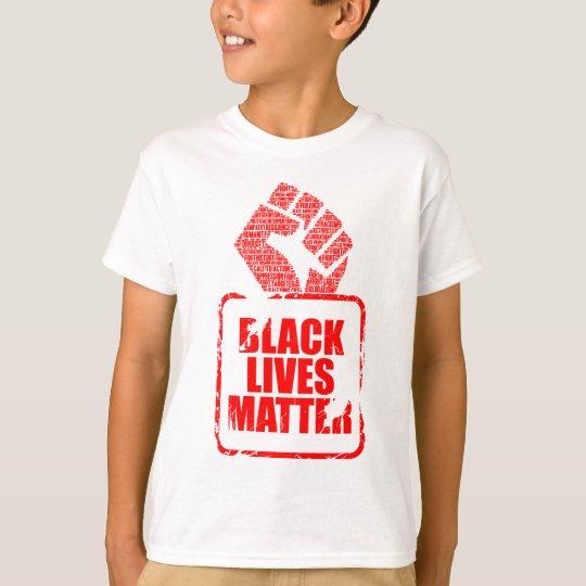 Schwarze Leben-Angelegenheit T-Shirt