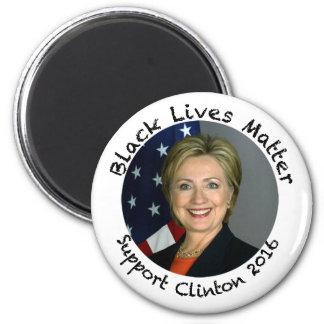 Schwarze Leben-Angelegenheit - Unterstützung Runder Magnet 5,7 Cm