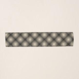 Schwarze Maschen-weiße Ball-Wässerung (T) durch Schal