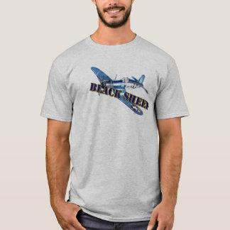 Schwarze Schaf-Seeräubert-stück T-Shirt