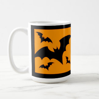 Schwarze Schläger Kaffeetasse