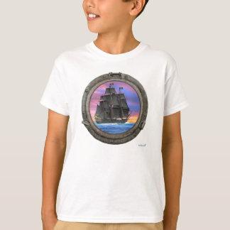 Schwarze Segel der 7 Meere T-Shirt