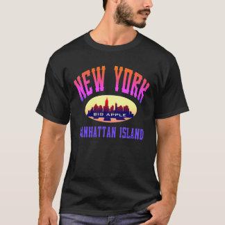 Schwarze T - Shirts New York Manhattan