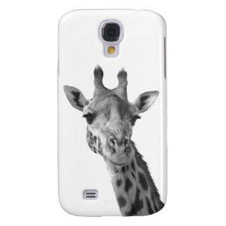 Schwarze u. weiße Giraffe Galaxy S4 Hülle