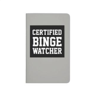 Schwarze und graue Zeitschrift des zugelassenen Taschennotizbuch