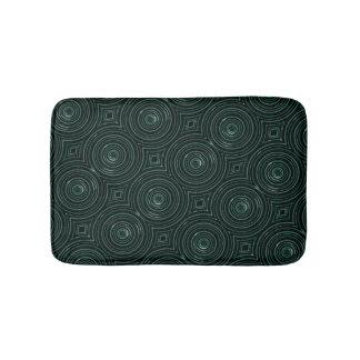 Schwarze und grüne Matte