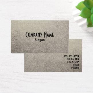Schwarze und silberne Folien-Foto Visitenkarte