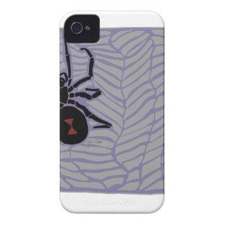 Schwarze Witwen-Spinne iPhone 4 Cover