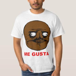 Schwärzen Sie mich Gusta Raserei-Gesicht Meme T-shirts