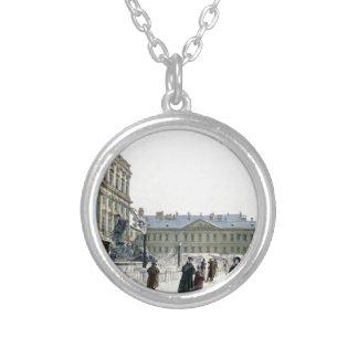 Schwarzenberg Palast durch Rudolf von Alt Halskette Mit Rundem Anhänger