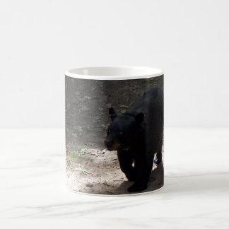 Schwarzer Bär Kaffeetasse