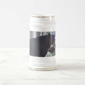 Schwarzer Bär Stein Bierkrug