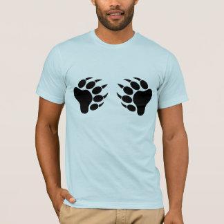 Schwarzer Bärn-Stolz-Bärentatze (R) T-Shirt