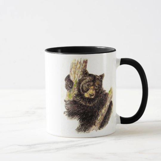 Schwarzer Bärn-Tasse Tasse