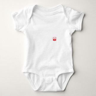 Schwarzer Bergmann T Baby Strampler