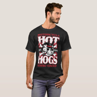 Schwarzer der Passagier-T - Shirt heißer Hogs™
